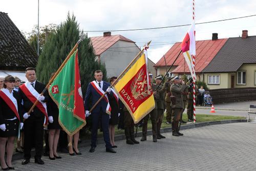 Pamięci żołnierzy września '39, Momoty – Dzwola, 29 września