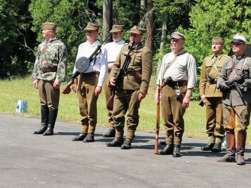 75 Rocznica Bitwy Partyzanckiej, Lasy Janowskie, 9 czerwca