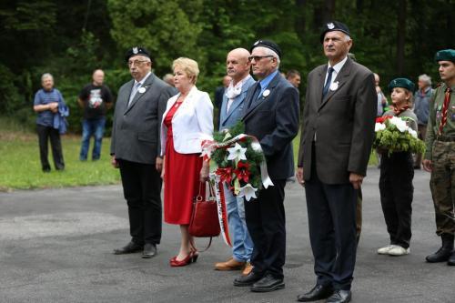 Obchody 76 Rocznicy Bitwy na Porytowym Wzgórzu, Lasy Janowskie, 15 czerwca