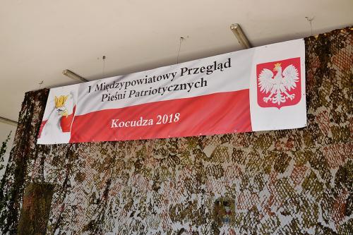 I Międzypowiatowy Przegląd Pieśni Patriotycznych, Kocudza
