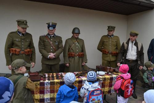 Spotkanie z dziećmi, Majdan Obleszcze